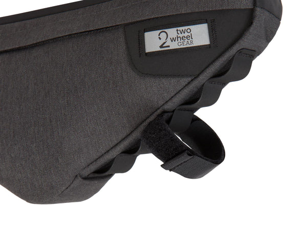 Two Wheel Gear - Bicycle Frame Bag - Graphite - 3.5 L - Loops