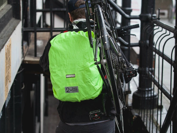 Black, Graphite - Pannier Backpack Rain Cover