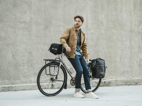 Two Wheel Gear - Pannier Backpack Convertible - Kompakt Rail - Graphite Grey