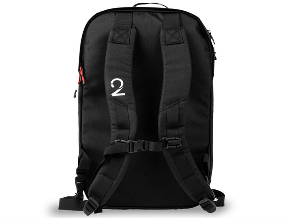 Black - Two Wheel Gear - Bags - Pannier Backpack Convertible PLUS+ - Back Straps