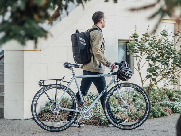 Black, Graphite - Two Wheel Gear - Pannier Backpack PLUS+ - On Commuter