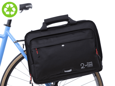Two Wheel Gear - Pannier Briefcase - Black
