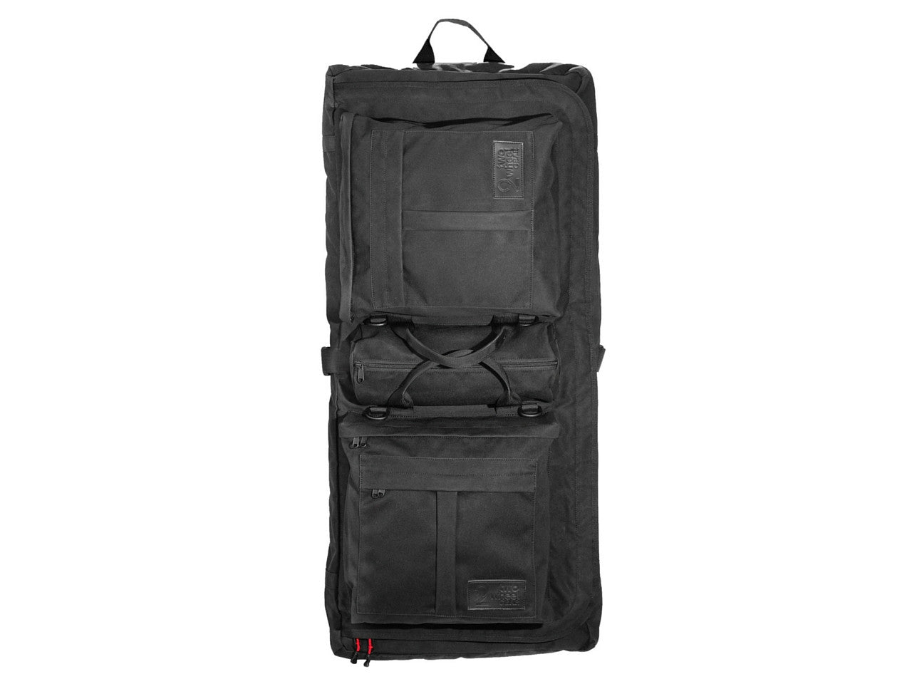 Executive 2.0 Garment Pannier - Black Waxed Canvas , Bags - Two Wheel Gear, Two Wheel Gear - 5