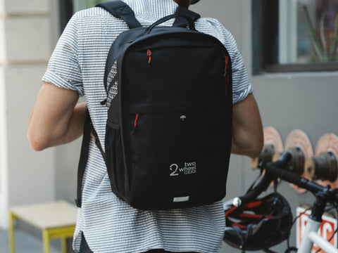 Black - Bags - Pannier Backpack Convertible (2018) - On Man