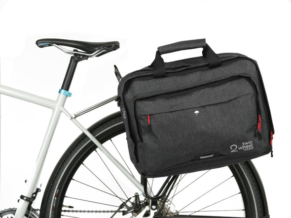 Graphite - Bike Bags - Pannier Briefcase Convertible (2018) - Bicycle