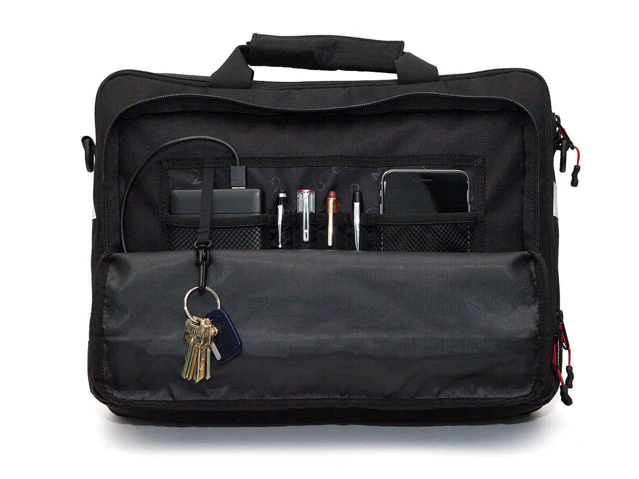 Black, Graphite, Canvas - Bike Bags - Pannier Briefcase Convertible (2018)