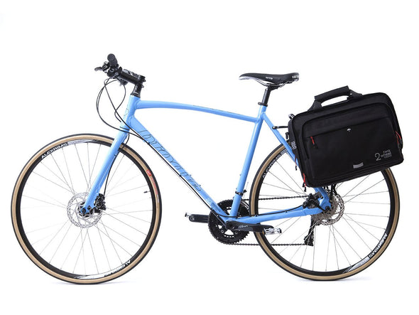 Black - Bike Bags - Pannier Briefcase Convertible (2018) - Bicycle