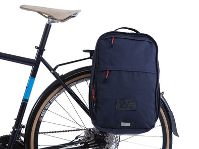 Pannier Backpack Convertible - Military Waxed Canvas - Navy
