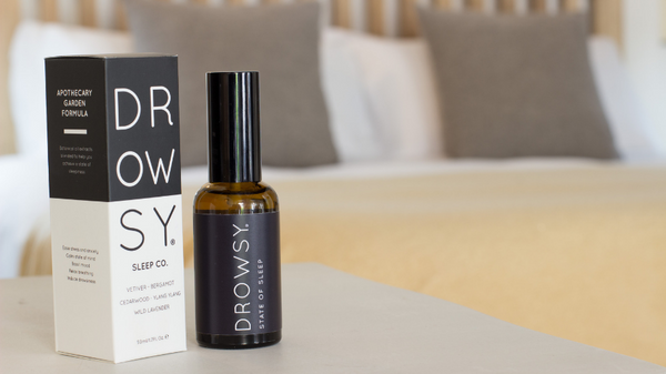 The benefits of using aromatherapy to improve your sleep. This works pillow spray