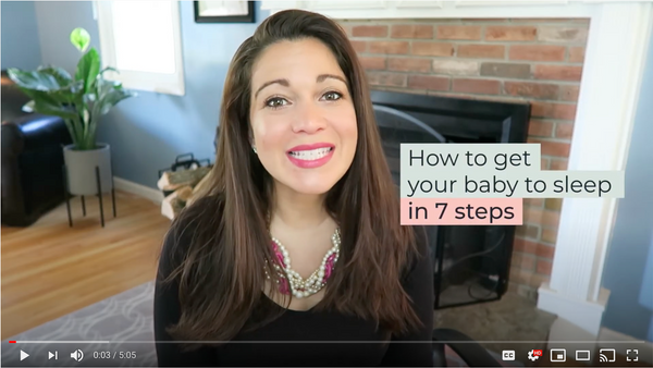 How to get your baby to sleep in 7 steps!