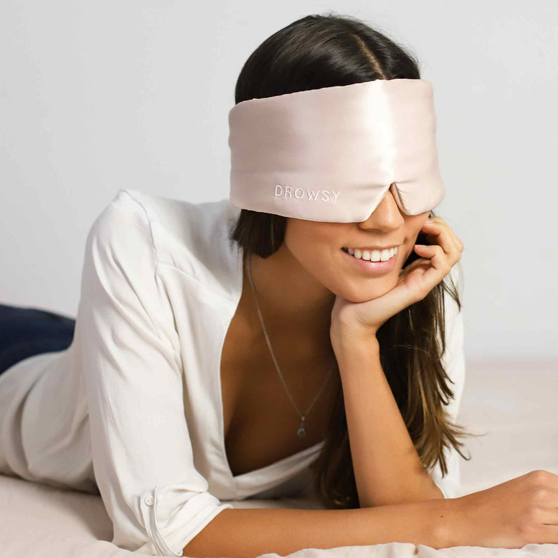 Sunset Pink - The Mulberry Silk Eye Mask