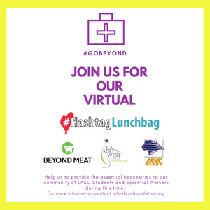 Virtual Hashtag Lunchbag X Beyond Meat