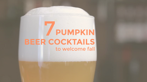 7 Pumpkin Beer Cocktails to Welcome Fall