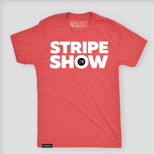 Stripe Show - Red