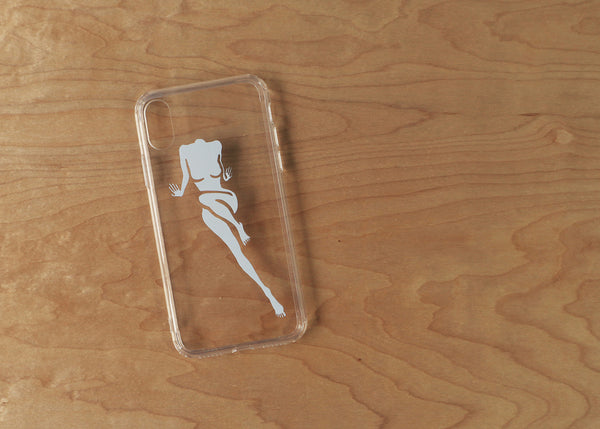 Agua White iPhone Case