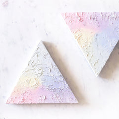 Two Twin Triangle Original Paintings