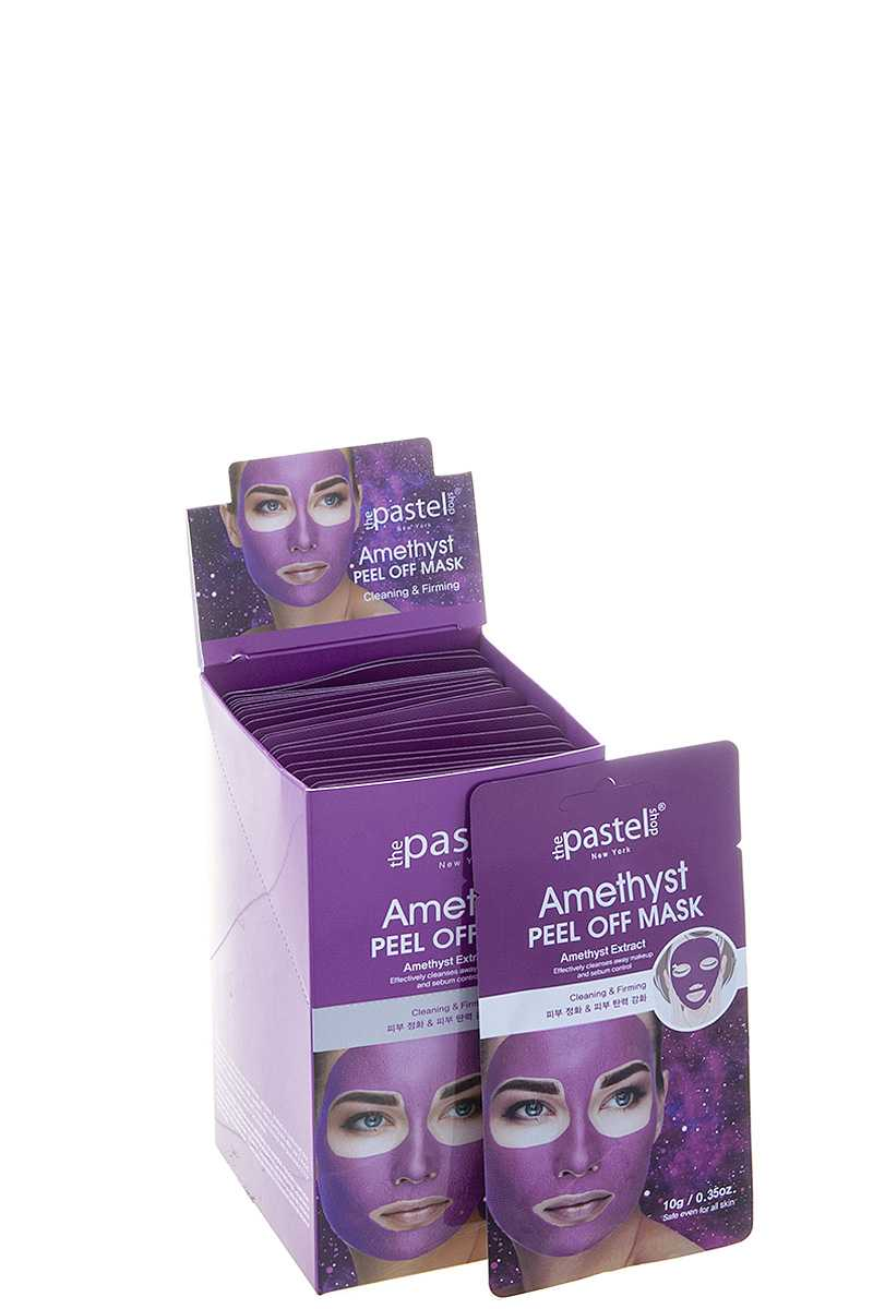 AMETHYST PEEL OFF MASK 24