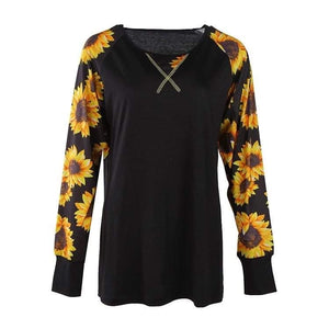 Sunflower Patchwork top