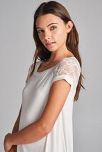 Load image into Gallery viewer, Lace Dreams Tunic in Ivory