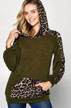 Load image into Gallery viewer, Fierce in Olive Hoodie