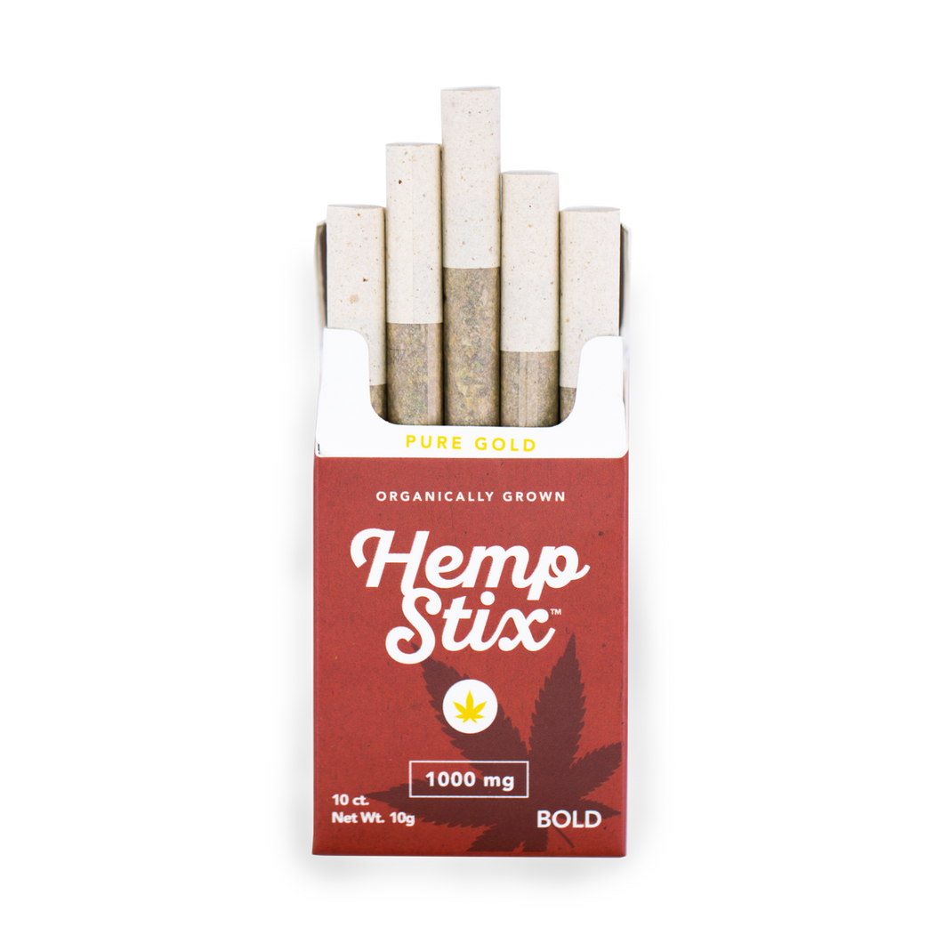Hemp Stix 1000 mg 10ct pack Bold
