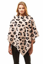 Load image into Gallery viewer, Leopard poncho