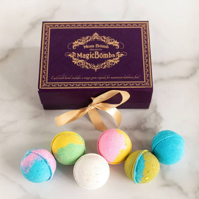 Bath Bomb gift set with magic surprise
