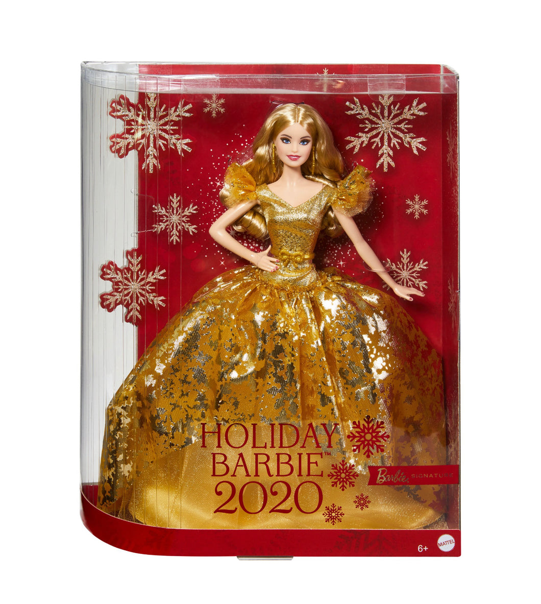 2020 Holiday Barbie