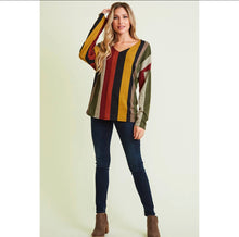 Load image into Gallery viewer, Olive open back sweater