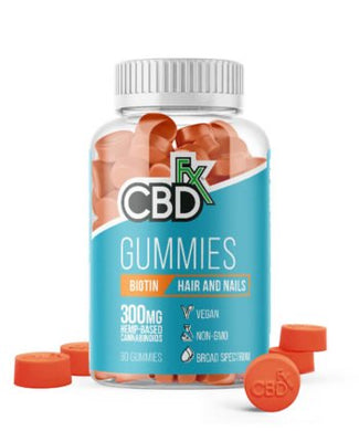 Cbd gummies with biotin for hair and nails