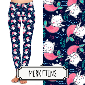 Yoga Style Leggings - Merkittens by Eleven & Co.