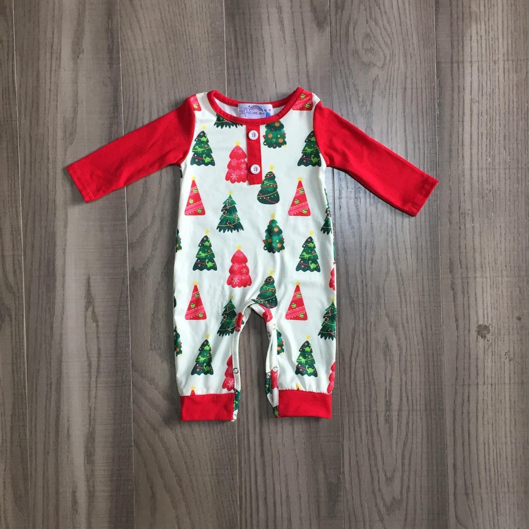 Hidden Dinosaurs Holiday Romper