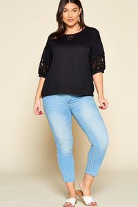 A Touch of Class Top in Black