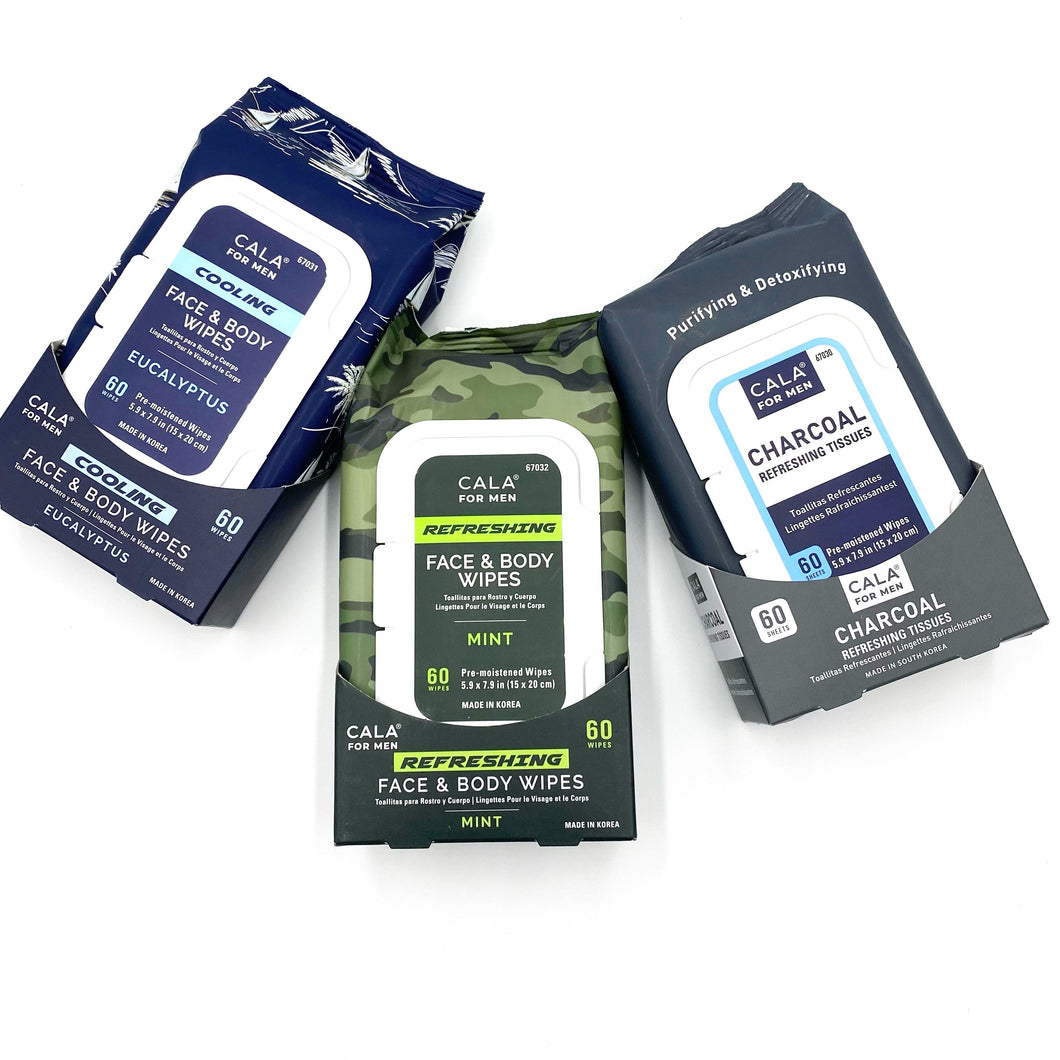 Mens Creme de le Creme Wipes