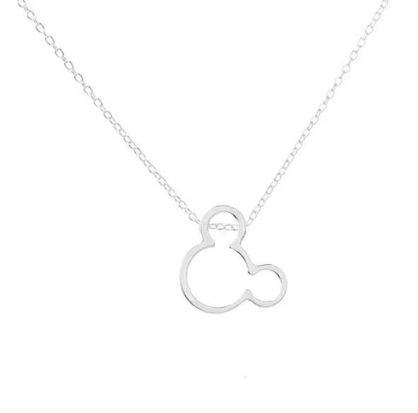 Delicate Mouse Necklace