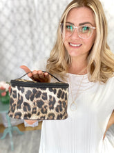 Load image into Gallery viewer, My Leopard Cosmetic Bag