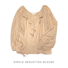 Load image into Gallery viewer, Simple Seduction Blouse