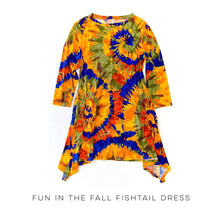 Load image into Gallery viewer, Fun in the Fall Fishtail Dress
