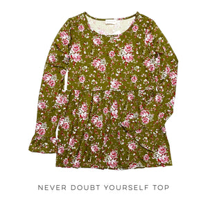 Never Doubt Yourself Top
