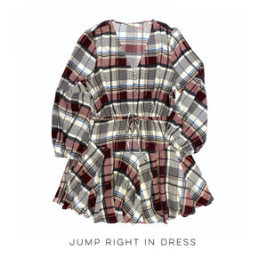 Jump Right In Dress