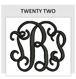 Font TWENTY TWO