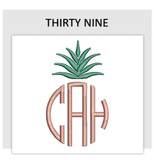 Font THIRTY NINE