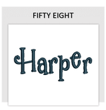 Font FIFTY EIGHT