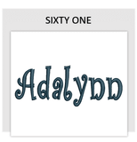Font SIXTY ONE