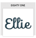 Font EIGHTY ONE