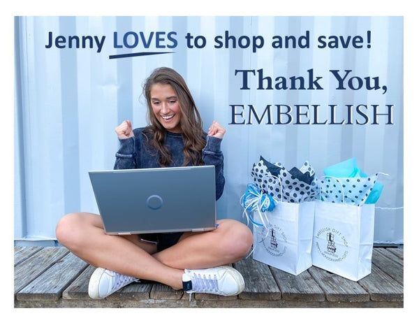 Embellish Shop and Save Today