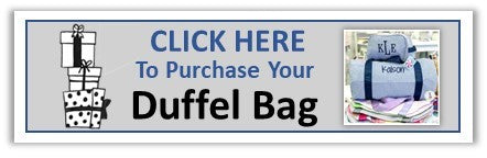 Purchase Duffel Bag from Embellish - Preppy Monogrammed Gifts
