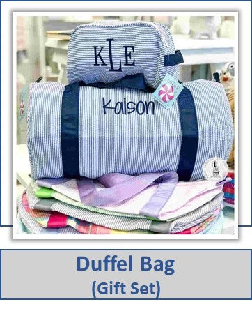 Duffel Bag from Embellish - Preppy Monogrammed Gifts