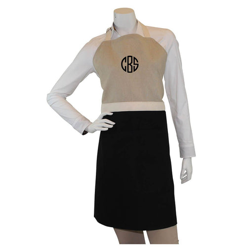 Unisex Apron Choose Color Black