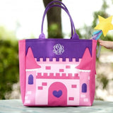 Personalized Character Totes Castle